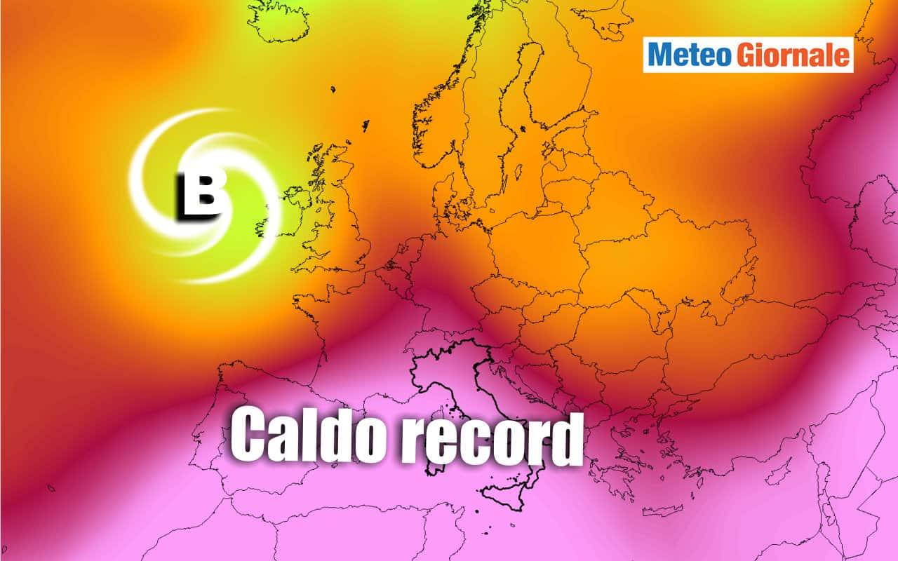 caldo record 2 - Scenari meteo da INCUBO: rischio CANICOLA record