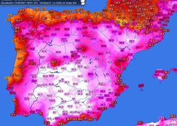 Il caldo estremo si è spostato sulla Penisola Iberica