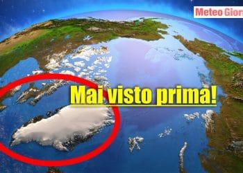 groenlandia pioggia nel ghiacciaio