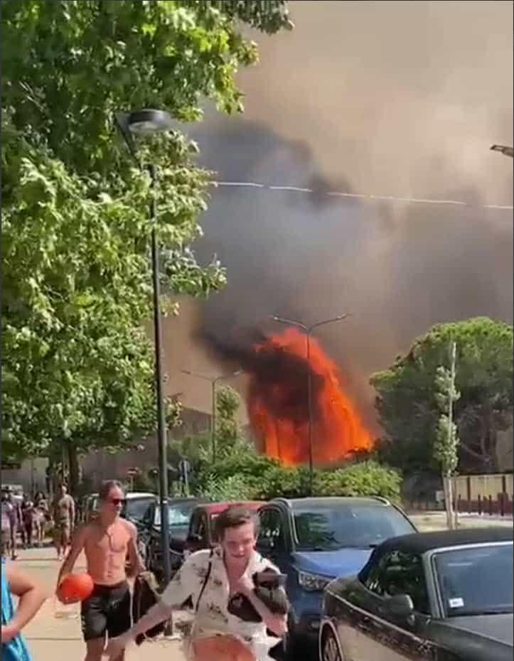 incendi - Estate 2021, meteo da disastro naturale. Caldo, fuoco, grandine, alluvioni. Temperature