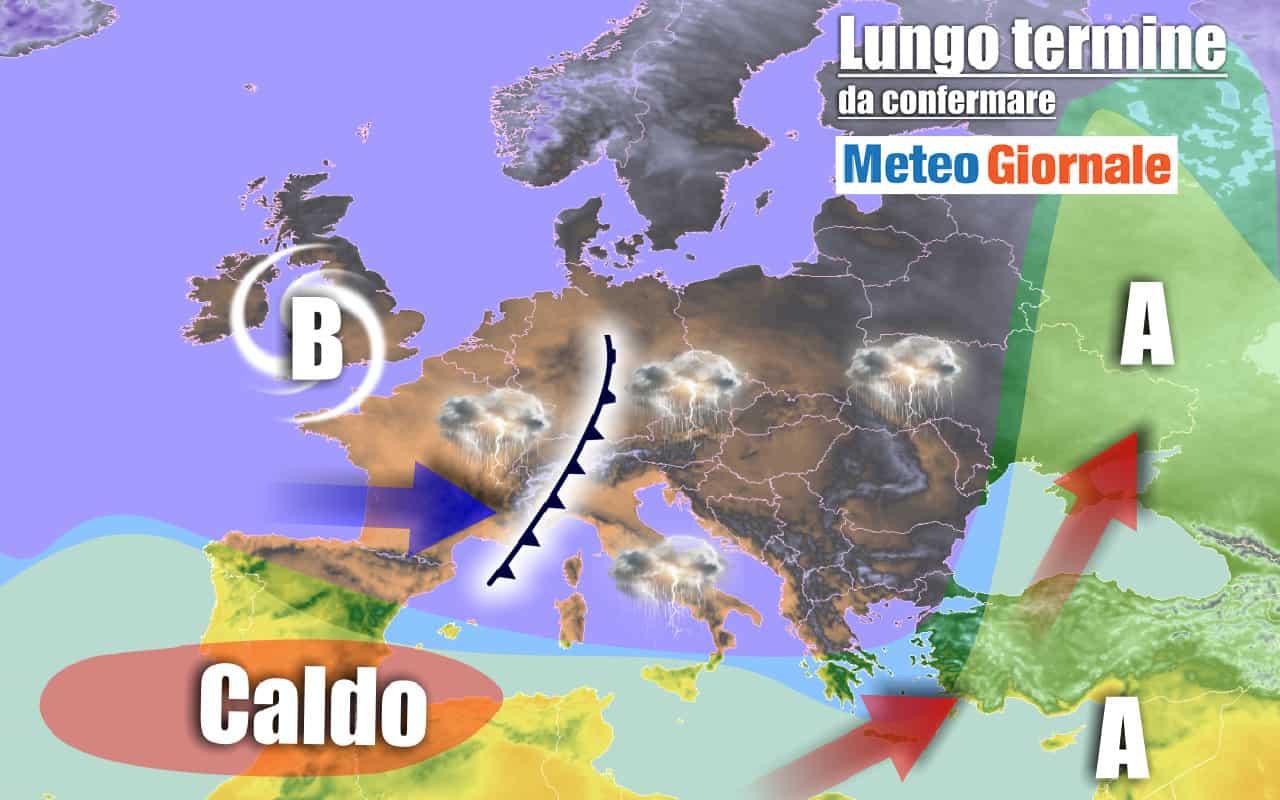 lungo termine 23 - METEO Italia al 14 settembre: MALTEMPO