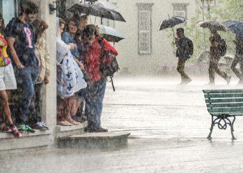 Tra i temporali del meteo avverso di fine Agosto.