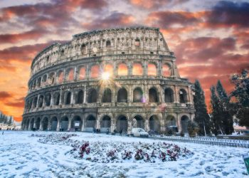 Fosse Inverno cadrebbe la neve su Roma.