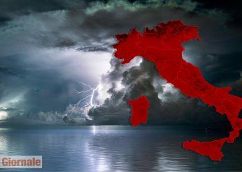 meteo con piogge torrenziali 350x250 - Meteo Italia a due settimane, l'Atlantico scatenerà l'AUTUNNO