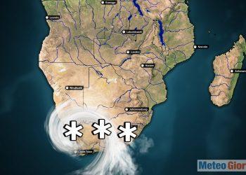 meteo invernale gelo neve sud africa