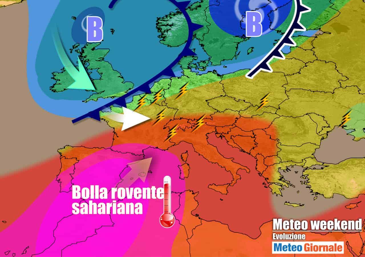 meteogiornale previsioni 7 giorni 11 - METEO 7 Giorni. CALDO intenso, ma dopo Ferragosto CAMBIA TUTTO