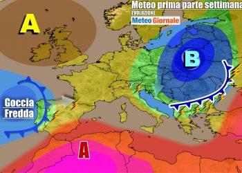 L'anticiclone tornerà sull'Italia, ma potrebbe durare poco