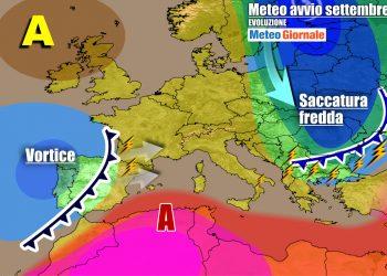 Settembre porterà presto le prime ondate di maltempo atlantico