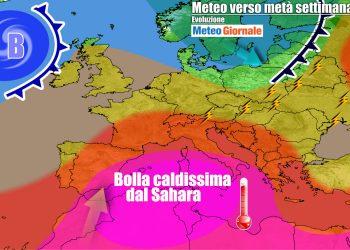 Ondata di grande caldo sull'Italia
