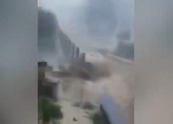 nubifragio nazioni perugia video 350x250 - Eccezionale temporale allaga l'aeroporto di Milano Malpensa, salvataggi in canotto