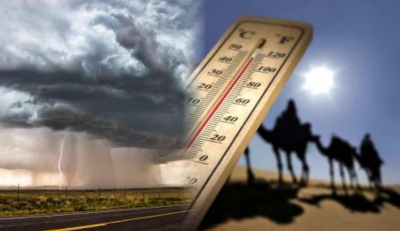 rottura caldo estremo - Meteo dopo Ferragosto: la ROTTURA D'ESTATE o il CALDO ESTREMO? Previsione