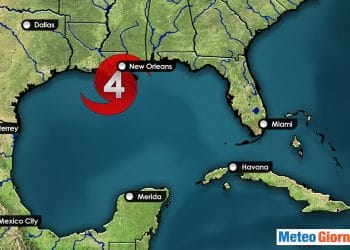 Uragano Ida categoria 4-5
