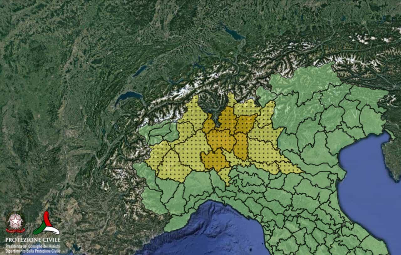 allerta meteo per il 18 09 2021 protezione civile 1 - Allerta meteo Protezione Civile per l'Italia prossime ore