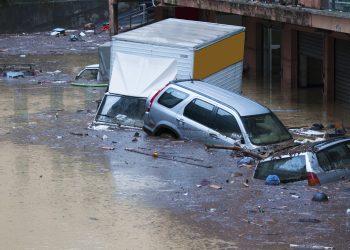 Crescente rischio alluvionale.