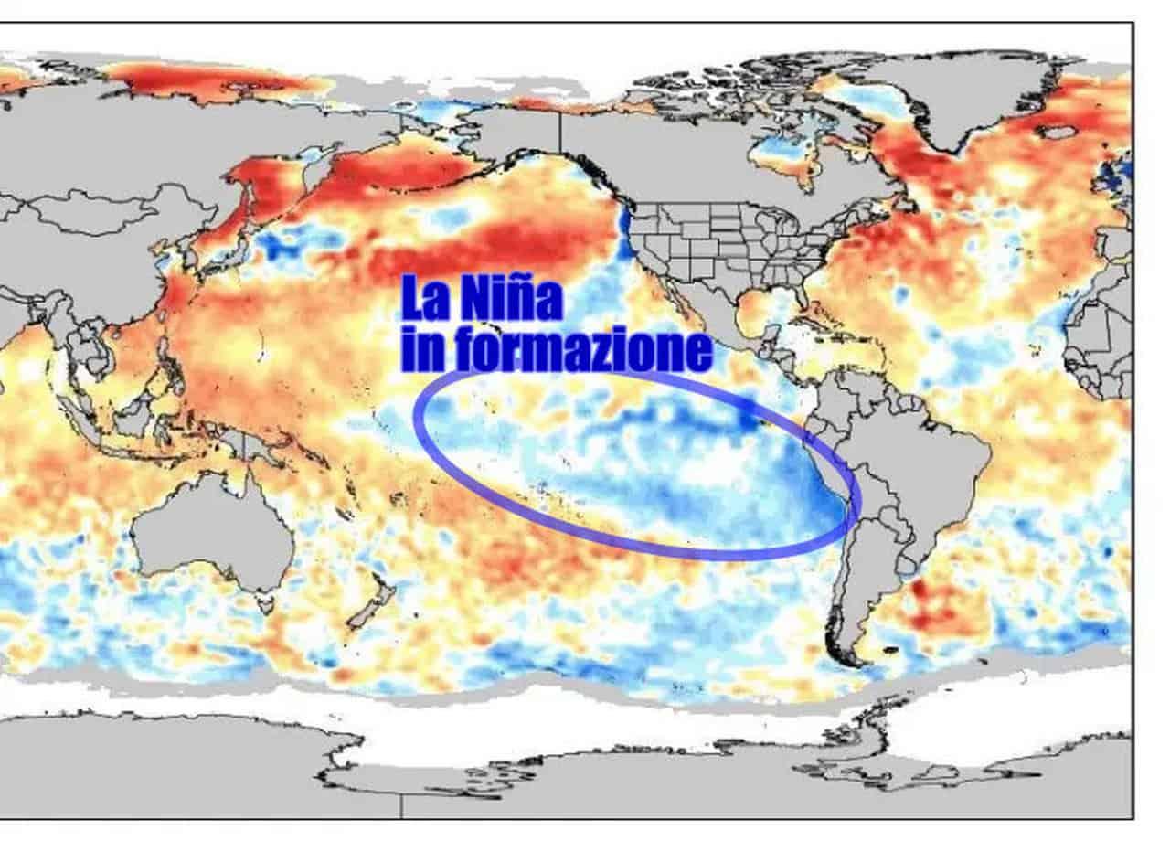 anomalie sst ocean - Meteo. Verso ritorno della Niña, ecco le conseguenze sul prossimo inverno
