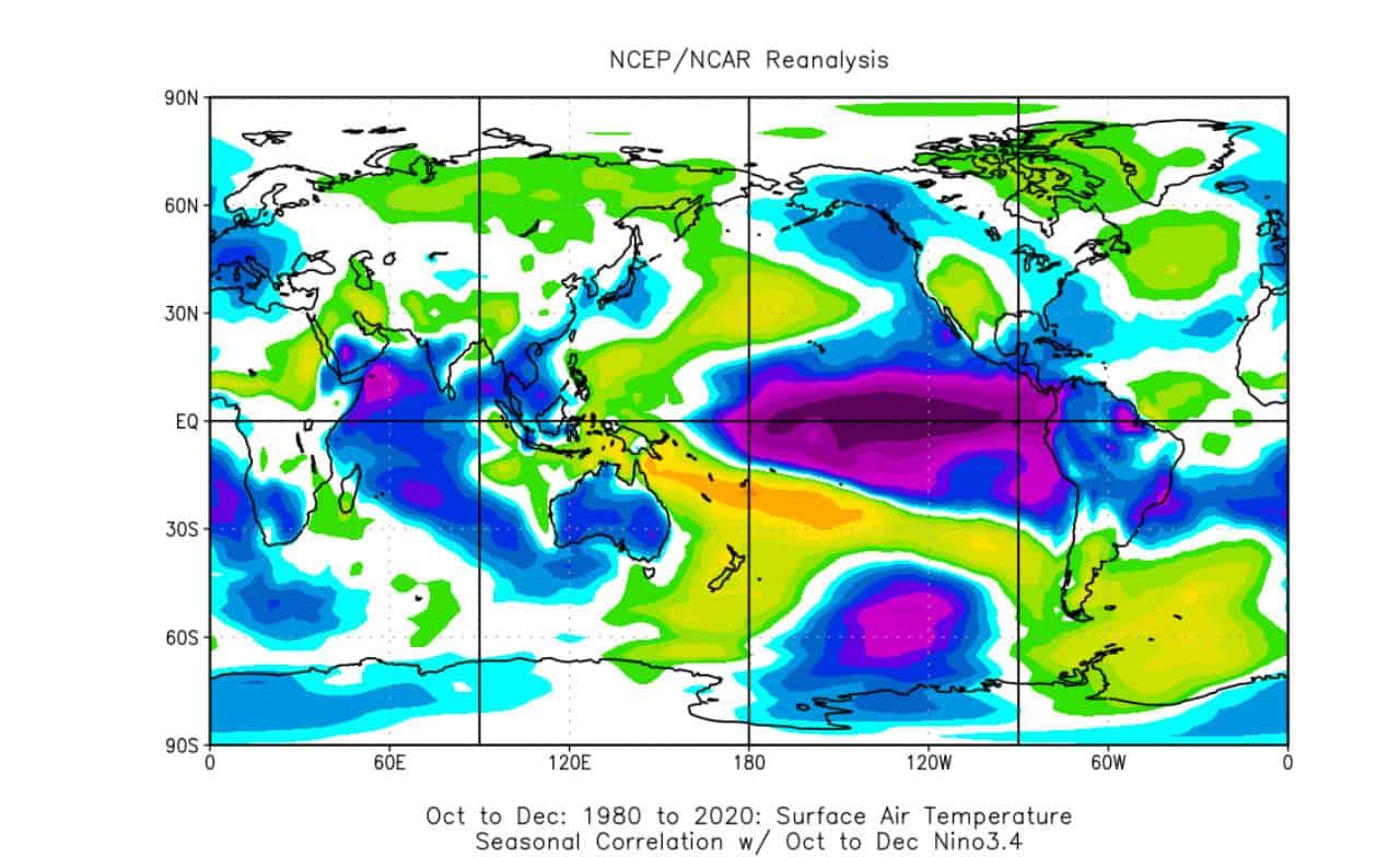 anomalie termiche autunno Nina - Proiezioni meteo d'Autunno: effetti POTENTI della NINA
