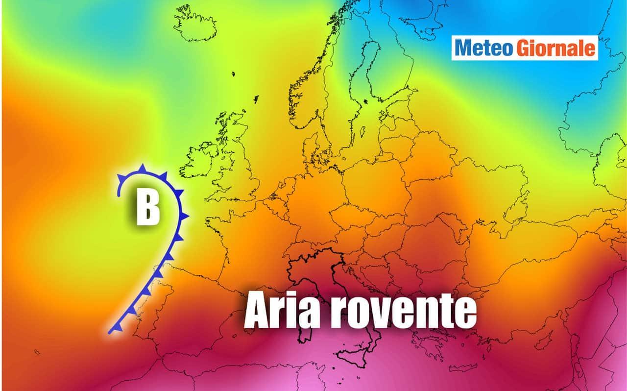 aria rovente - Ribaltone meteo? Ipotesi CALDO atroce a fine mese