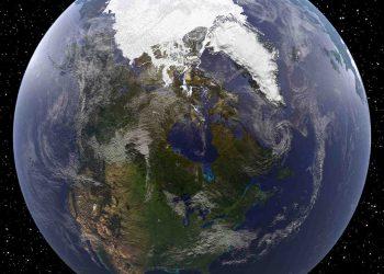 I ghiacci sull'Artico alla minima estensione annua