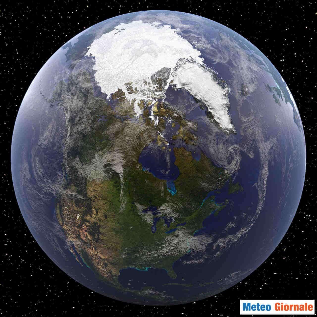 artico ghiacci estensione - METEO sull'Artico, raggiunta la minima estensione dei ghiacci. Buone notizie
