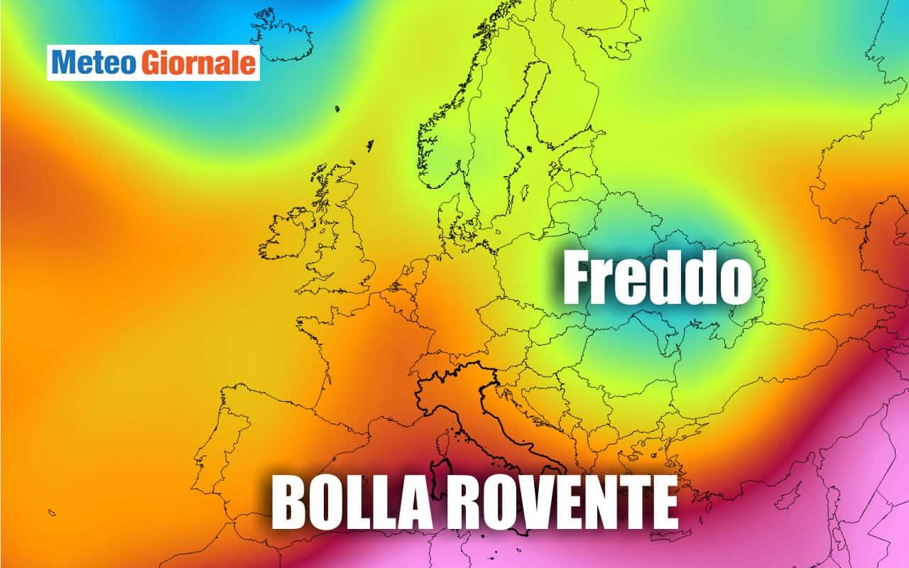 caldo 1 - Botta di CALDO e ce ne saranno altre nel meteo di settembre