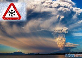 eruzione vulcanica e cambiamento clima