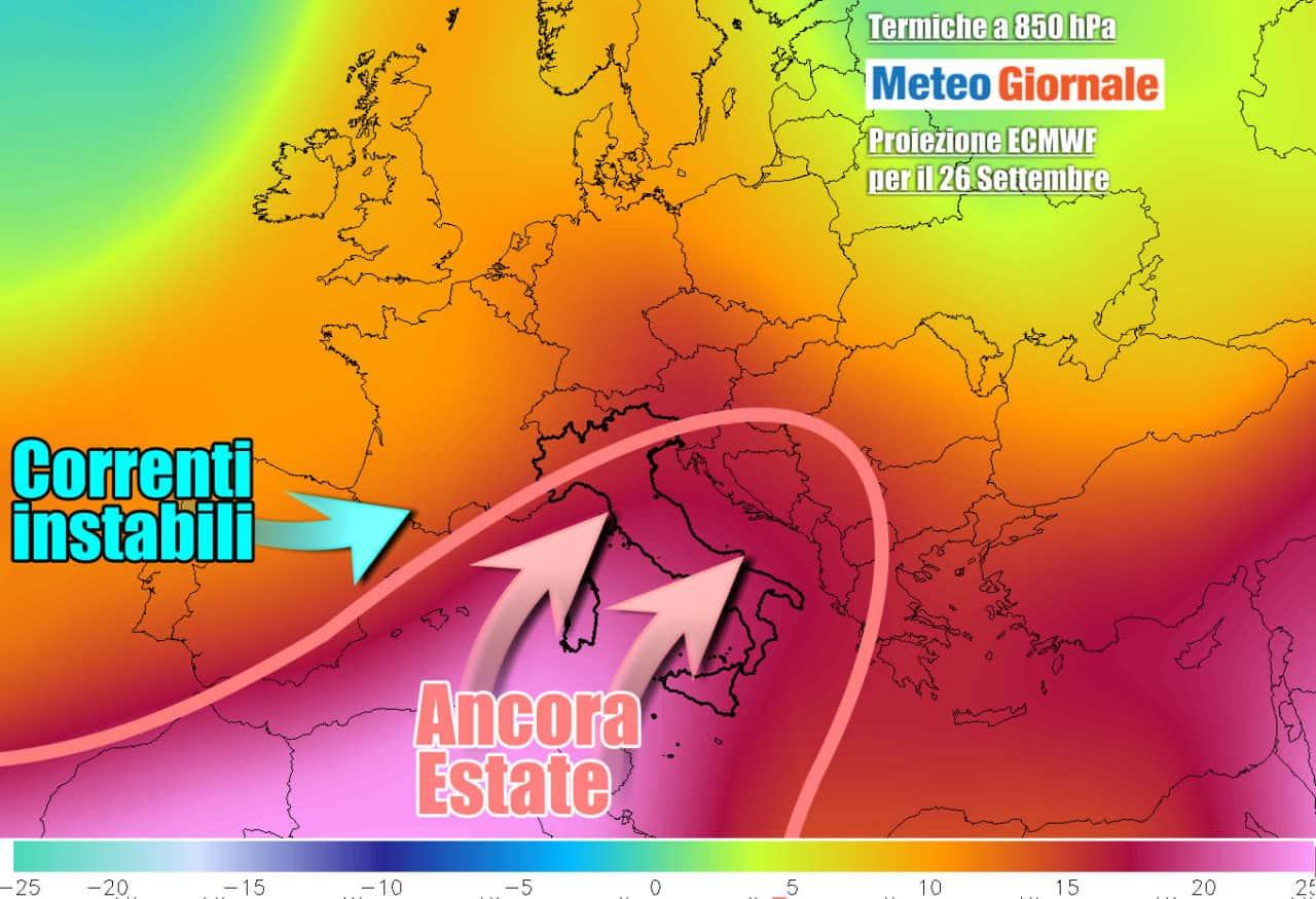 estate weekend termiche 1 - Eccezionale fiammata africana. METEO con CALDO come in piena Estate
