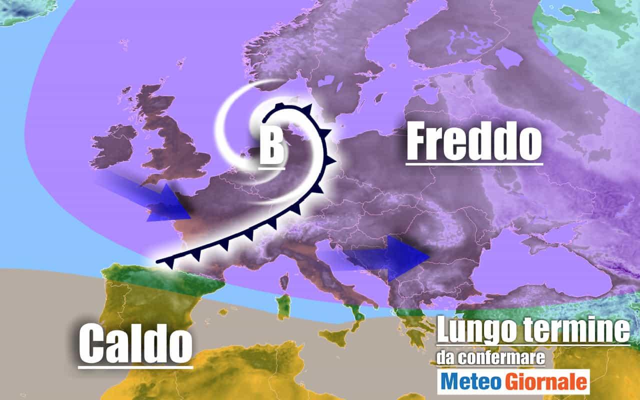 lungo termine 16 - METEO Italia al 5 Ottobre, gran PEGGIORAMENTO autunnale