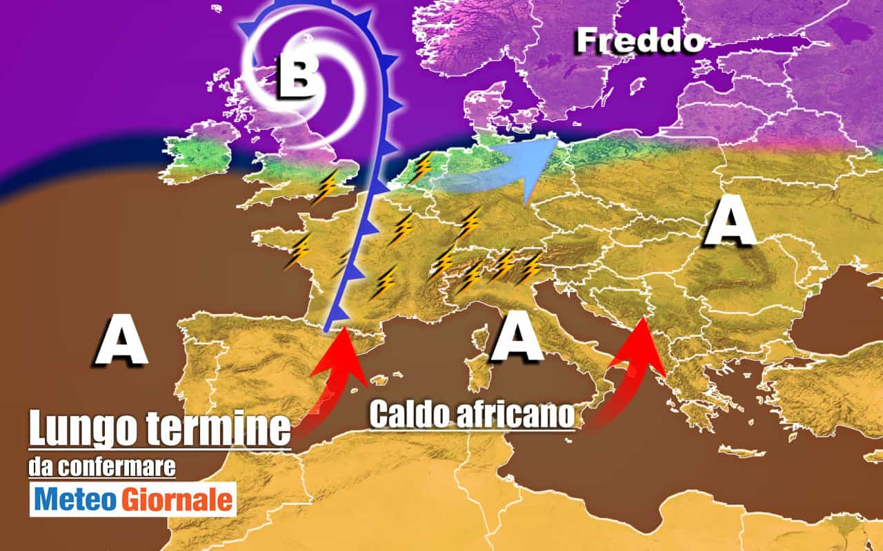 lungo termine 20 - METEO Italia al 9 Ottobre, ancora CALDO prima dei nubifragi