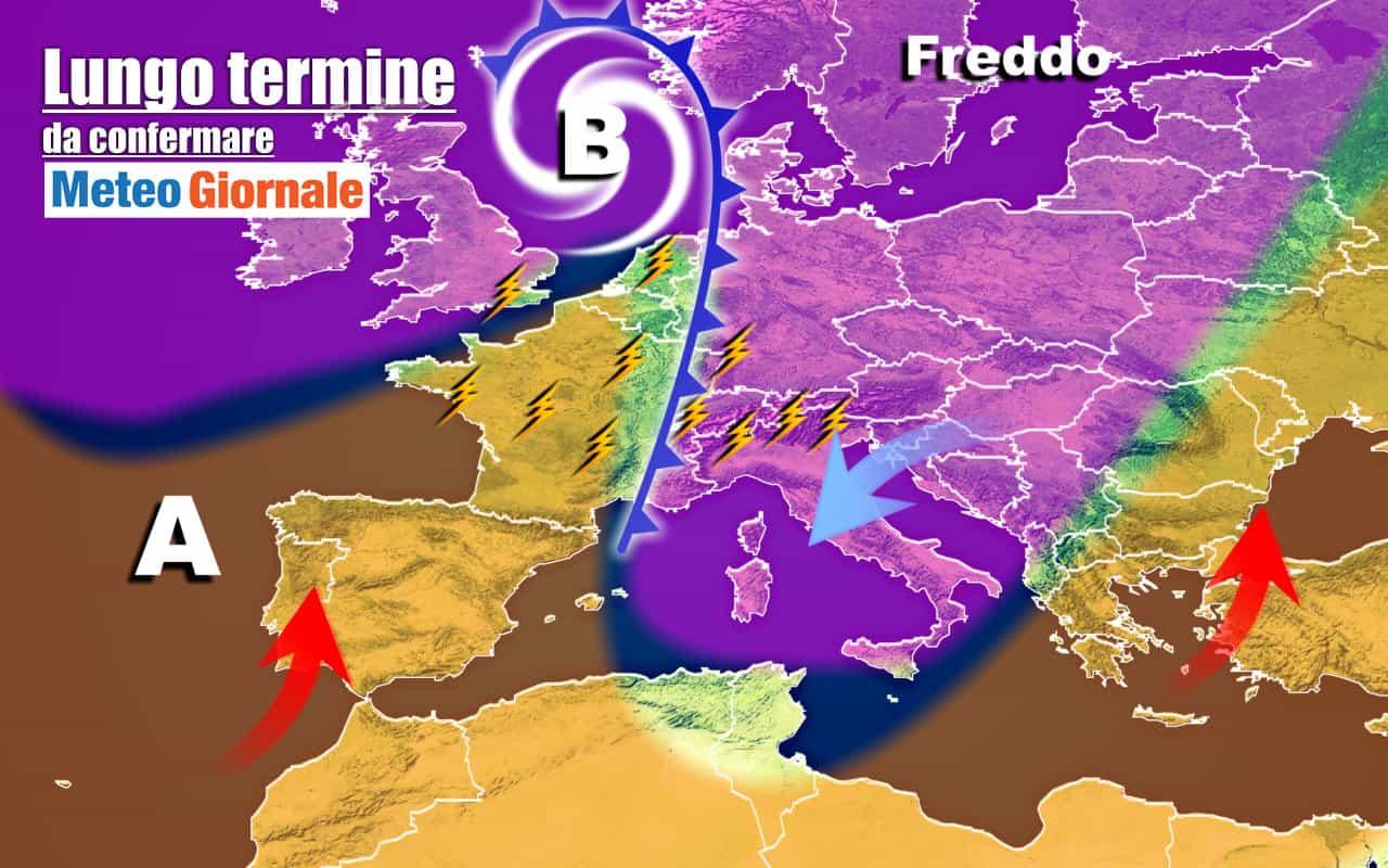 lungo termine 21 - METEO Italia al 10 Ottobre, ribaltone con CROLLO temperature