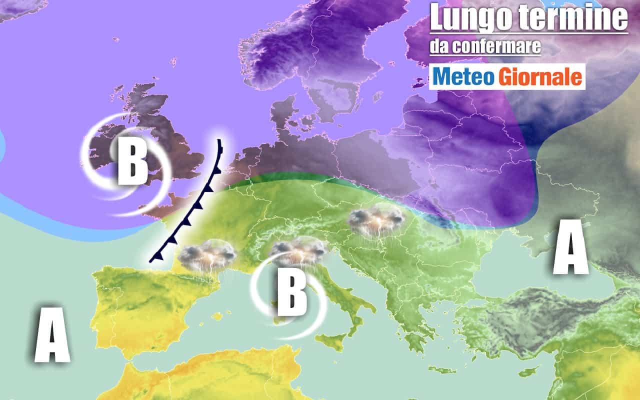 lungo termine 5 - METEO Italia al 22 settembre, gocce fredde e NUBIFRAGI