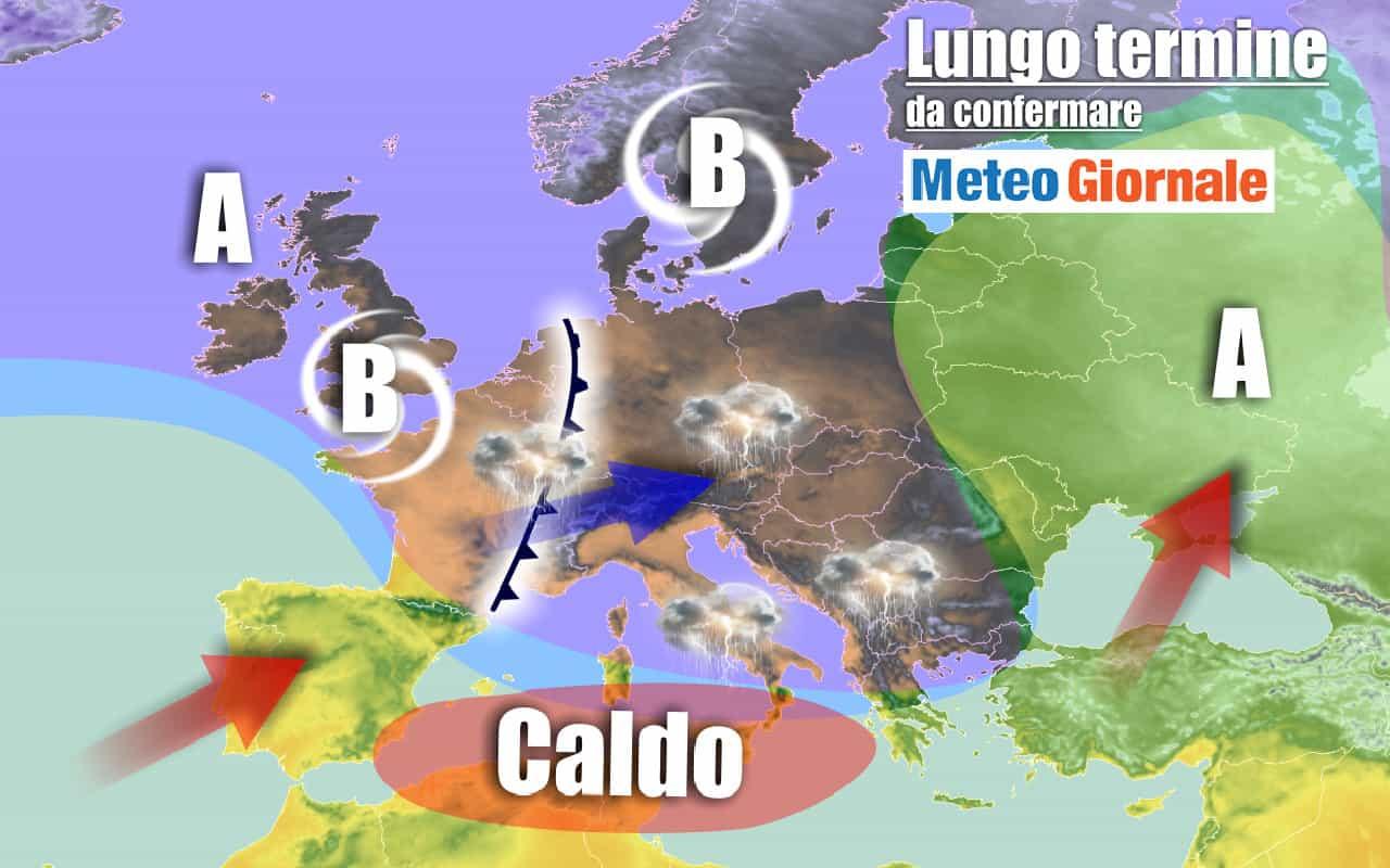 lungo termine 9 - METEO Italia al 26 settembre, sussulto d'ESTATE poi pessimo