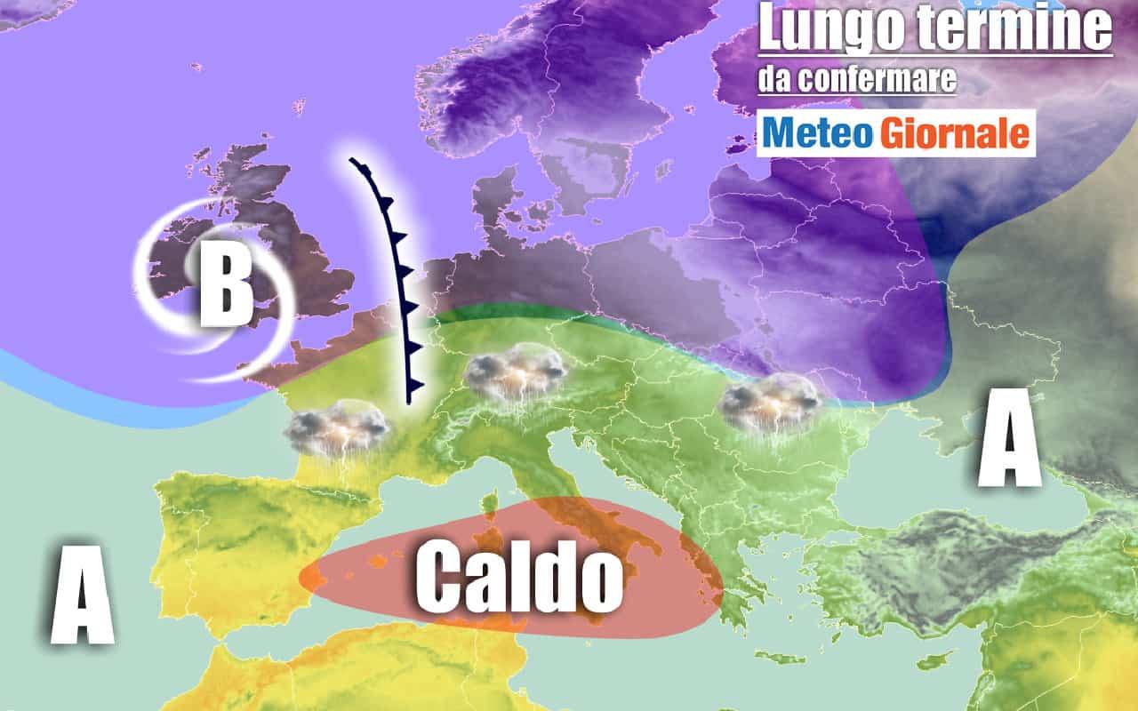 lungo termine domenica 1 - Meteo al 27 Settembre: CALDO innaturale. Occhio ai Super Temporali