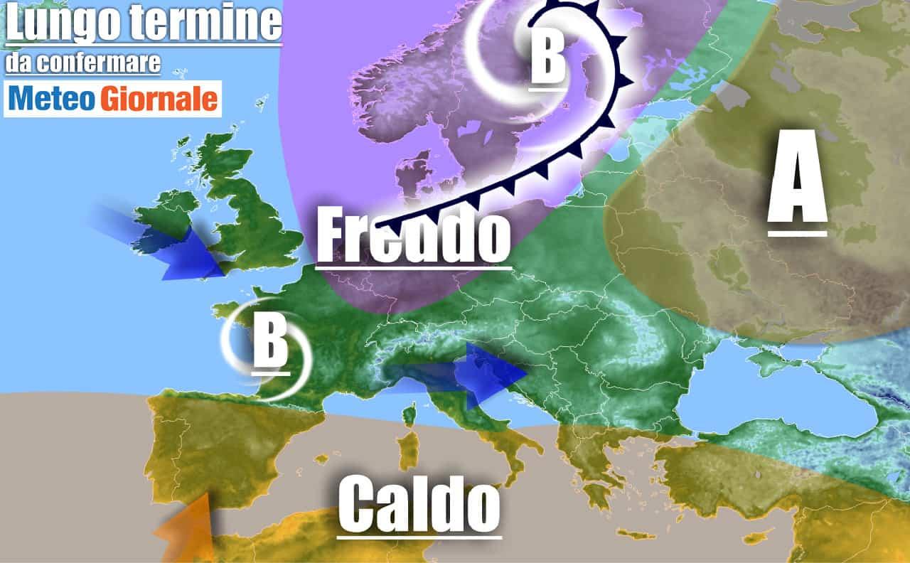 lungo termine domenica 2 - Meteo Italia al 4 ottobre: AUTUNNO entra nel vivo