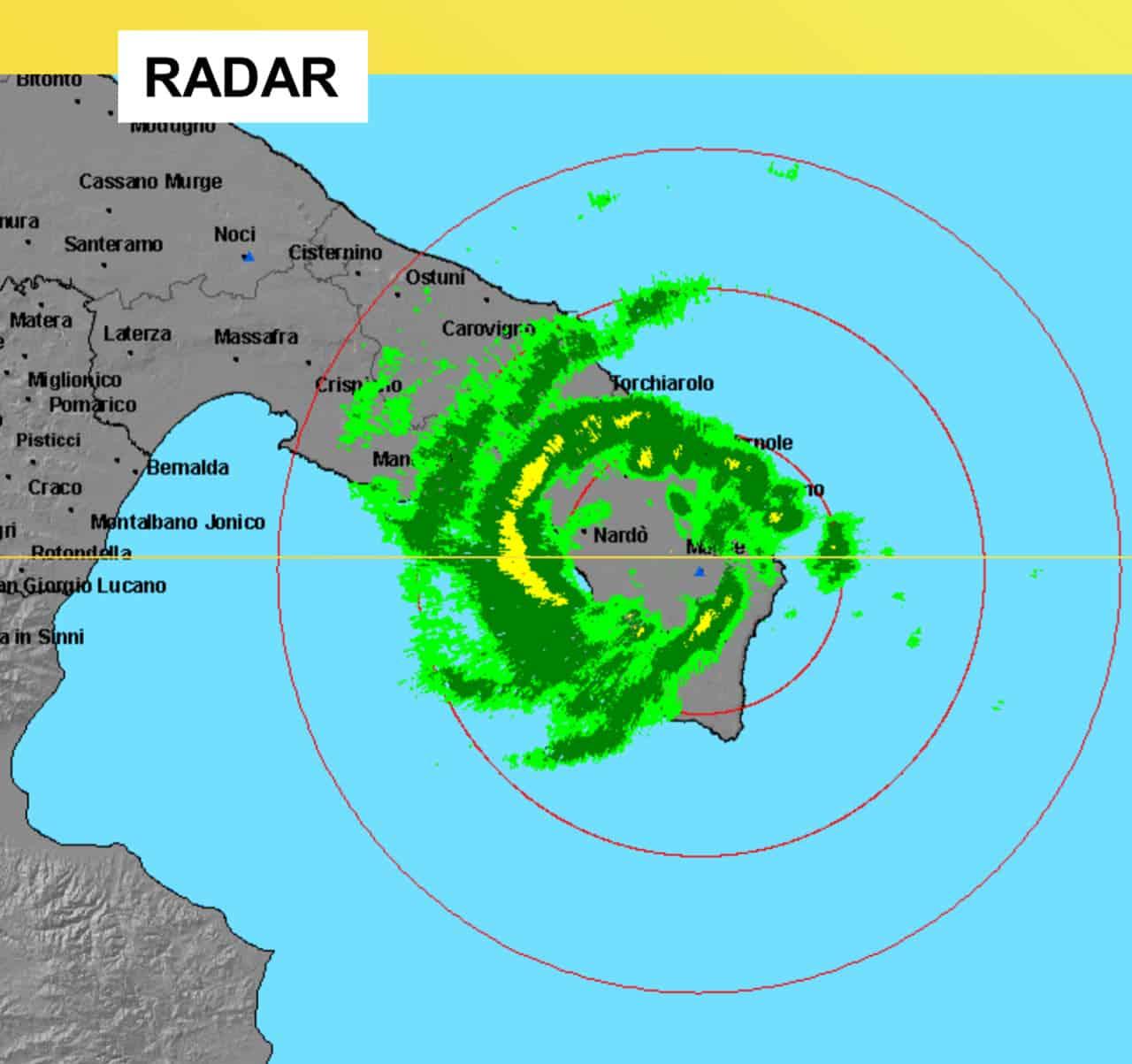 medicane del 2006 in puglia - Meteo Mediterraneo, insistente rischio piccoli e cattivi Uragani