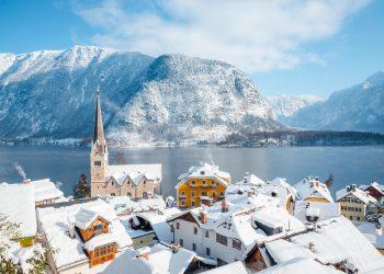 Le variazioni di nevosità in Europa.