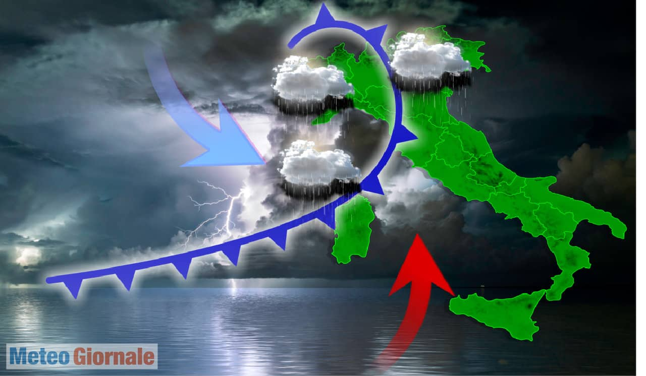 meteo autunnale 1 - Rischio alluvioni lampo METEO, ecco un pesante PEGGIORAMENTO autunnale