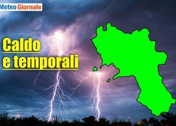 meteo campania 350x250 - TORNADO in Italia a fine aprile, è già periodo in Val Padana