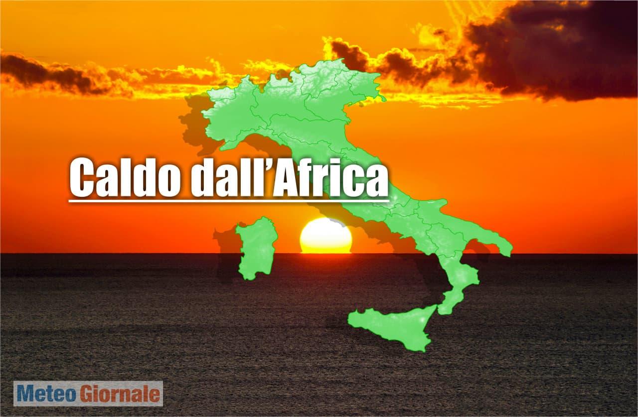 meteo con caldo africano - TROPPO Caldo dall'Africa dissolve il meteo d'Autunno