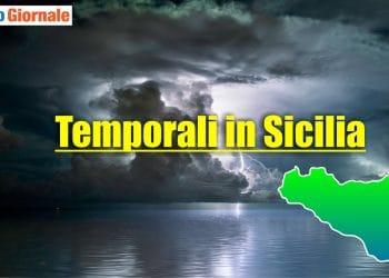 Meteo Sicilia, temporali e nubifragi.
