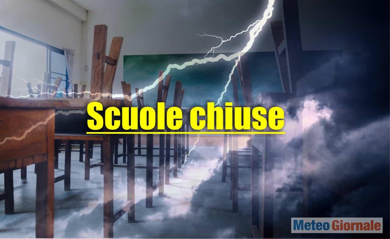 meteo con scuole chiuse - Scuole chiuse in vari comuni. Meteo Italia, torna l'incubo alluvioni
