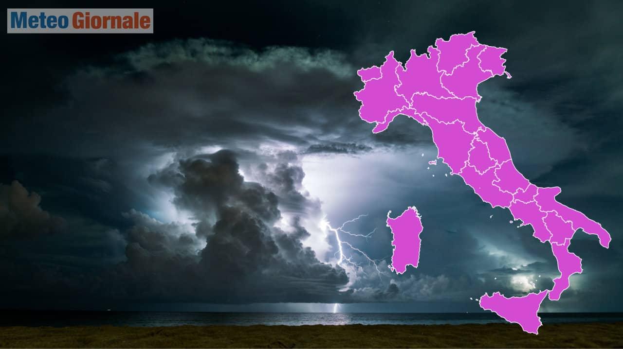 meteo estremo autunnale - In ITALIA, i perché dell'allerta meteo dopo gli eventi MORTALI della FRANCIA