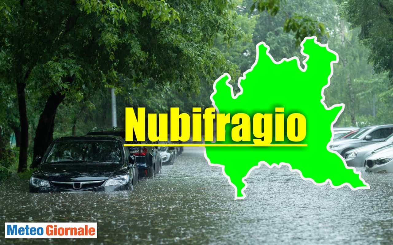 meteo lombardia - Meteo Lombardia: nuovi violenti nubifragi