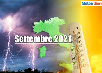 meteo settembre 2021