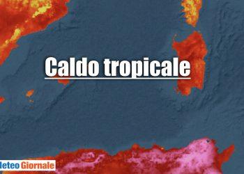 meteo tropicale sardegna