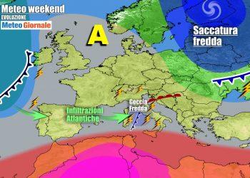 meteogiornale previsioni 7 giorni 1 350x250 - Meteo 7 giorni: breve anticiclone, poi PIOGGE e TEMPORALI a fine settimana