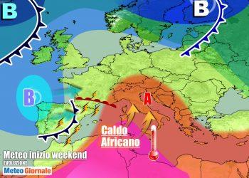 Weekend nel segno dell'anticiclone africano