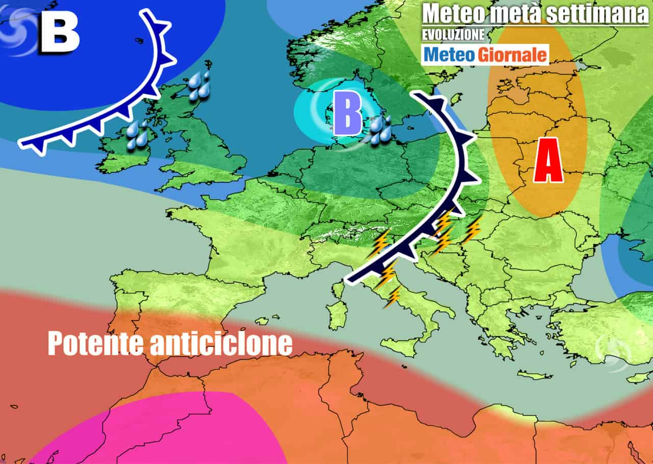 meteogiornale previsioni 7 giorni 29 - Meteo 7 Giorni: AUTUNNO ancora timido, verso novità importanti ad ottobre