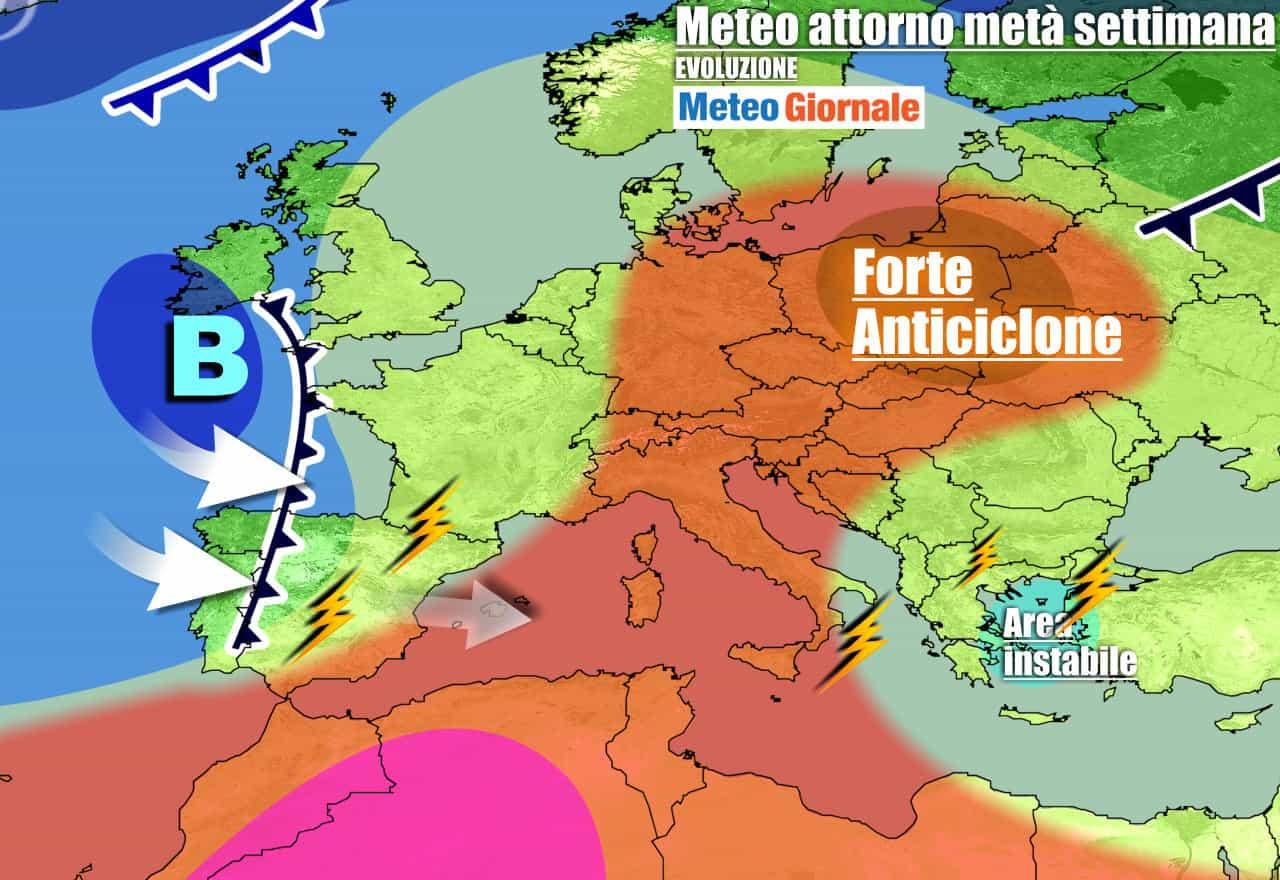 meteogiornale previsioni 7 giorni 6 - Meteo 7 giorni: ESTATE SETTEMBRINA e caldo. Ecco quando tornerà la pioggia