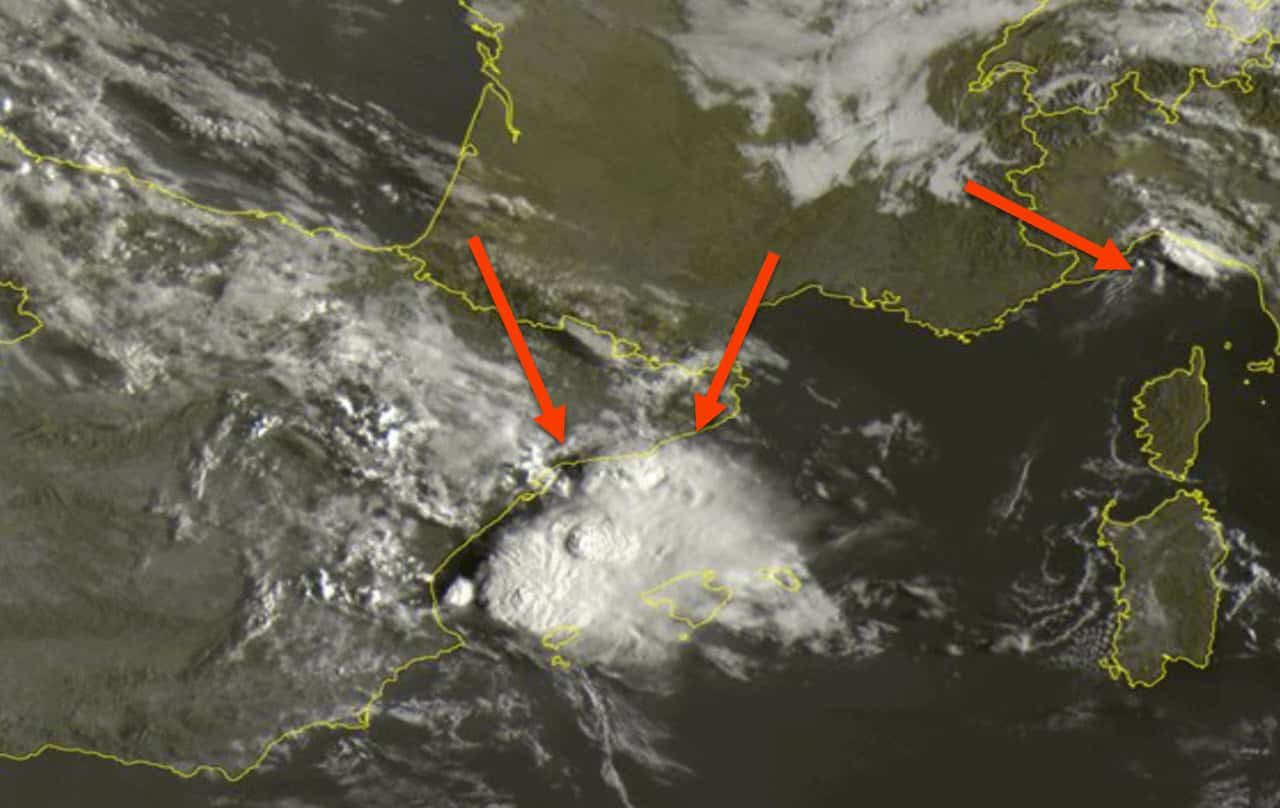 meteosat 8 30 - Subito i Tropical Storm nel meteo d'inizio Autunno