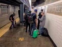 new york alluvione allaga la met - Uragano Ida arriva a New York, straordinaria alluvione lampo invade la metropolitana. Video Meteo